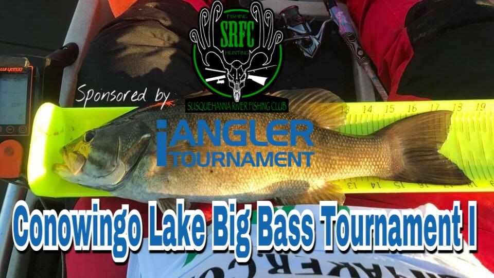 SRFC - 2018 Conowingo Lake Big Bass Tournament I