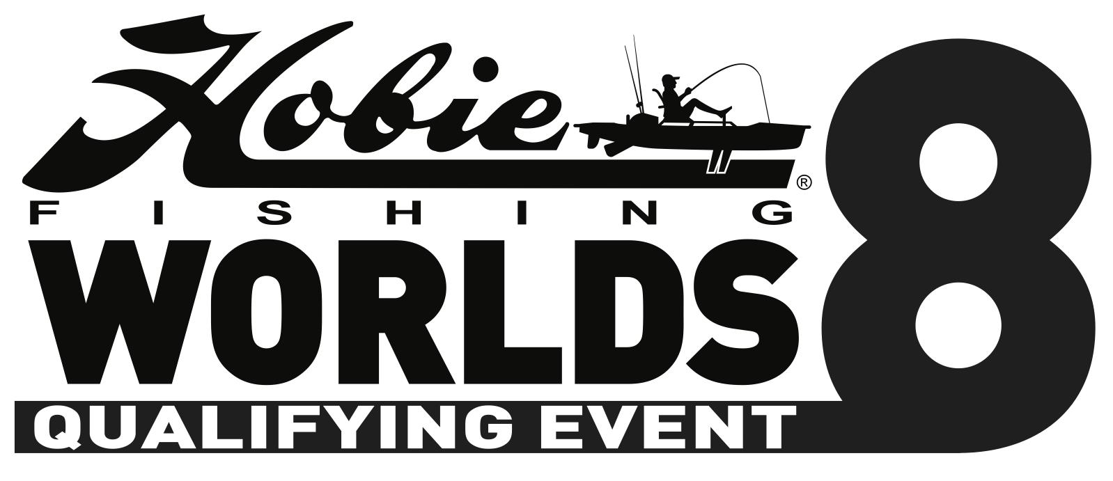 Hobie Worlds 8 Logo - Black