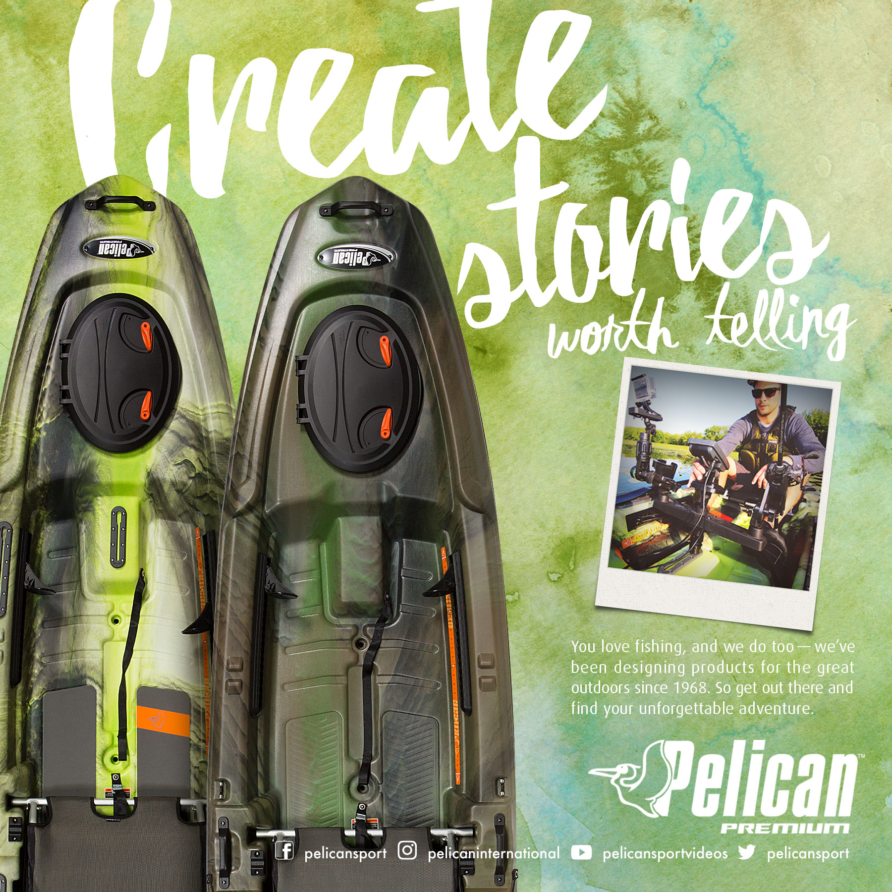 Pelican Fishing Block Ad 1200x1200